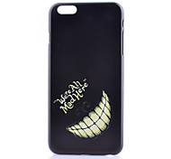 Tooth Pattern PC Phone Case For iPhone 6