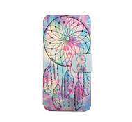 Windbell Pattern PU Leather Full Body Case with Stand for iPod Touch 5/6