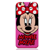 Disney Minnie Pink TPU Soft Back Cover for iPhone 6