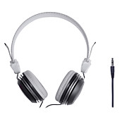 conector de 3,5 mm para auriculares diadema estéreo de alta fidelidad universal para el teléfono, mp3, tablet, psp (colores surtidos)