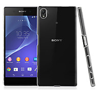 Transparent PC Back Cover Case for Sony Xperia Z5