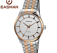 EASMAN® Watch Men Brand New Men Quartz Rose Gold Watches Luxury Sapphire Steel Glow Green Light Wristwatches Men Watch