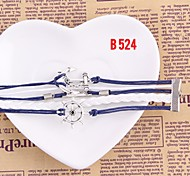 Charm Lady Girl Handmade Woven Jewelry Bangle Metal Bracelet
