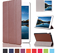 7.9 Inch Triple Folding Pattern High Quality PU Leather Case for iPad Mini 4(Assorted Colors)