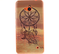 Windbell Design TPU + IMD Phone Case For Nokia N640