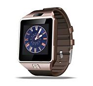 nieuwe slimme horloge dz09 met bluetooth v4.1 stappenteller / sedentaire herinnering / slaap monitoring / remote camera / anti-verloren