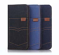 For iPhone 6 Case / iPhone 6 Plus Case Wallet / with Stand / Flip Case Full Body Case Solid Color Soft TextileiPhone 7 Plus / iPhone 7 /