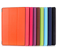 10.1 Inch Triple Folding Pattern High Quality PU Leather Case for Acer Switch 10E(Assorted Colors)