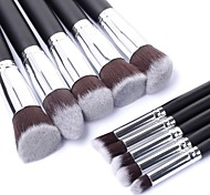 New Makeup Brush Set Cosmetic Foundation Blending Pencil Brushes Kabuki MAC Makeup Style