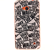 Cartoon Letters Pattern TPU + IMD Phone Case For Nokia N640