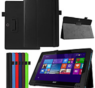 Dengpin PU Leather Litchi Texture with Stand Cover Case Skin for Acer switch 10E SW3-013-12 (Assorted Colors)