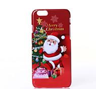 caso difícil de Natal padrão de árvore pc para o iphone 6 6s / iphone