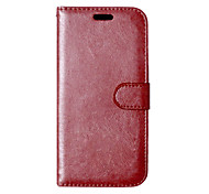 PU Leather + TPU Back Cover Wallet Case Flip Cover Photo Frame Case for HTC Desire 626