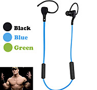 Sports Bluetooth Earphone Wireless Headphone With MIC Handfree Sport Ear Bud Mobile for Samsung(Assorted Color)