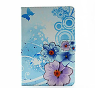 Individual Flowers Painted Holster for iPad Mini 4(Assorted Colors)