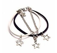 The Navy Style Star Fasion Wrap Bracelets*1pc