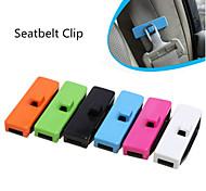 2pcs cinturones de seguridad clips tapón de seguridad pinzas para el cinturón de auto accesorios para vehículos automóviles