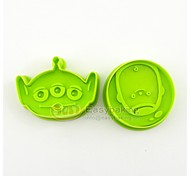 2016 New Cute Cartoon Animal 3D Biscuit Mold C-3PO Cookie Cutters and Stamps