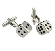 Dice Formative Men Cufflinks