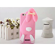 Silicone Material Buck Teeth Rabbit Style for iPhone 5/5S (Assorted Colors)