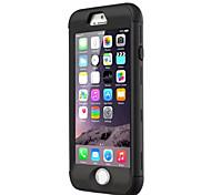 cubierta de la caja de armadura para el iphone de apple 6 / 6s / 4.7 (colores surtidos)