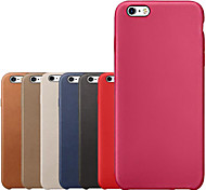 Original echtem Leder rückseitigen Abdeckung für iphone 6plus / 6s plus (verschiedene Farben)