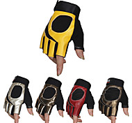 Men's Cycling Gloves Half Finger Anti-Skidding Sport PU Gloves