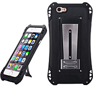 Sport Waterproof Shockproof Aluminum Alloy Back Case for IPHONE 6/ 6S - Black + Black