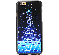 Christmas Style Stars Night Pattern PC Hard Back Cover for iPhone 6