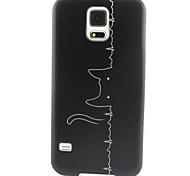 Für Samsung Galaxy Hülle Muster Hülle Rückseitenabdeckung Hülle Katze TPU Samsung S5 Mini / S4 Mini / S3 Mini