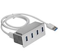 clip usb 3.0 4-Port Hub de aluminio