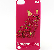 Dragon Dog Painting Pattern TPU Soft Case for iPod Touch 5/Touch 6