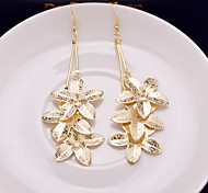 Hot Style Multi-level Superposition Frosted Flower Earrings