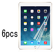 6pcs High Transparency LCD Crystal Clear Screen Protector with Cleaning Cloth for iPad Mini 4