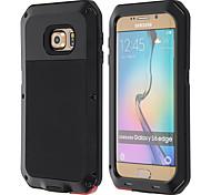 lunatik aluminium waterdichte schokbestendige case voor Samsung Galaxy s6 rand (assorti kleur)