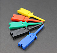 Logic Analyzer Test Clip - Black -Red -Blue- Green -Yellow(5 PCS)