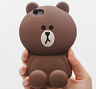 Solid Bear Silicone Anti Fall Protection Cases for iPhone6/iPhone 6s(Assorted Colors)