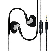 BLCR®S6 In–Ear Phones Noise Cancelling Stereo Metal Headphones Earbuds for iPhone6/6S /iPad  and Android devices