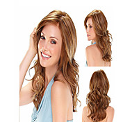 New Fashion Mix Color Long Curly Wonen's Full wig Top Quality