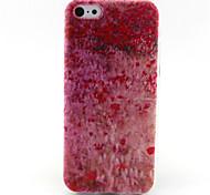 motif de fleurs TPU Case pour iPhone 5c