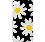 Chrysanthemum Pattern TPU Phone Case for Lenovo S90