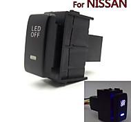 luces especiales niebla del coche 12v interruptor de la luz de marcha diurna dedicados cambiar el uso de nissan qashqai juke Tiida Almera
