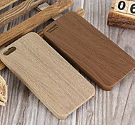 Wood Grain TPU Soft Shell Back Cover Case for iPhone 5/5S