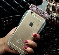 High Quality Milk Bottle Style with Diamond Cover for iPhone 6 Plus (Assorted Colors)