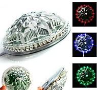 LED Light Effect Auto Sunflower Rotating Party Stage Club KTV Disco Transparent (AC85-240V)