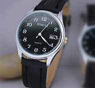 L.WEST Men's Waterproof Calendar Quartz Pointer Watch Wrist Watch Cool Watch Unique Watch