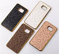 Para Samsung Galaxy Note Cromado Capinha Capa Traseira Capinha Estampa Geométrica PC Samsung Note 5 / Note 4 / Note 3