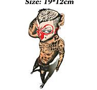 Tatuaggi adesivi - Altro - Brand New - Da donna / Da uomo / Adulto / Teen - 1 - Modello - di Carta - 12cm(W)*19cm(L) - Multicolore -Non