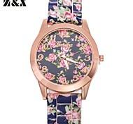 Women's Fashion Vintage Quartz Silicon Analog Wrist Watch(Assorted Colors)