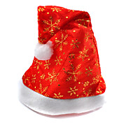 Celebration Happy Santa Claus Christmas Hats Caps For Christmas Party (Random Color)